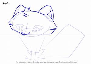 Learn How To Draw Arctic Fox From Animal Jam Animal Jam
