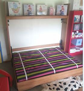 Lit escamotable horizontal fidji dcopin secret de chambre for Tapis chambre enfant avec avis matelas epeda le secret