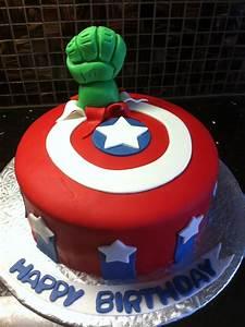 Avengers Birthday Cake - CakeCentral com