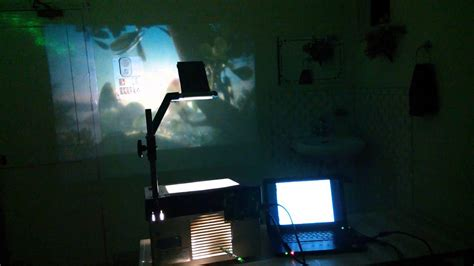 homebuild lcd projector  ohp youtube