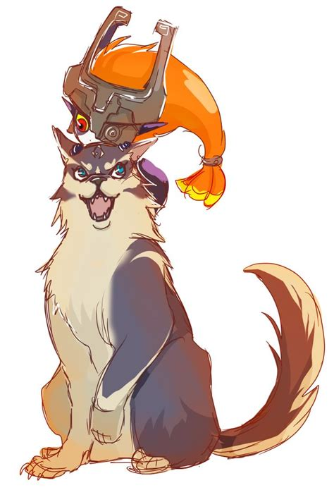 133 Best Images About Loz Link And Midna On Pinterest