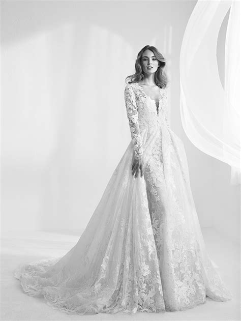 robe mariee dentelle 2018 pronovias 2018 toute la collection de robes de mari 233 e