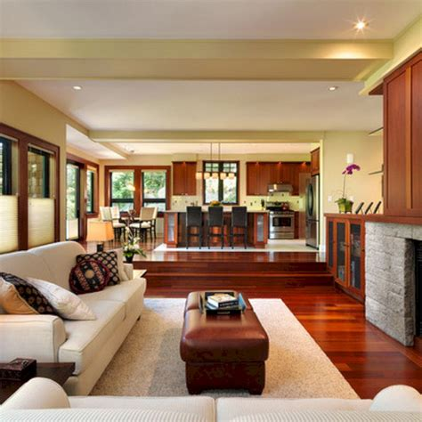 kitchen family room design the best living room decorating ideas that expand space no 4752