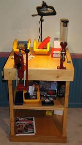 Small Reloading Bench Plans - WoodWorking Projects & Plans