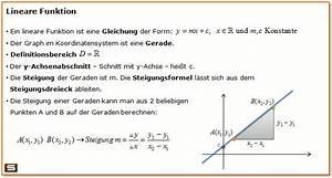 Funktionen Berechnen : lineare funktionen erkl rung steigungsdreieck y achsenabschnitt ~ Themetempest.com Abrechnung