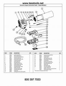 Mr Heater Hero Mh35clp Parts Parts List And Diagram