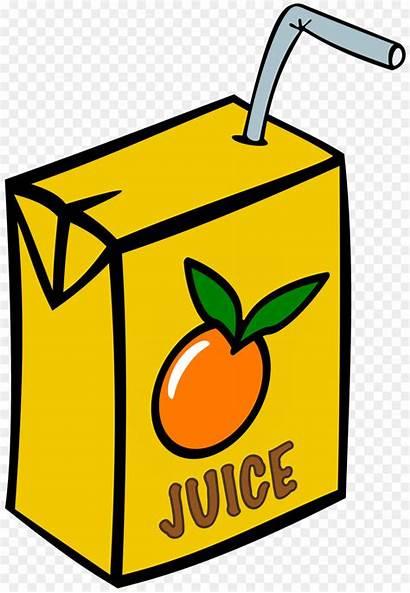Juice Clipart Box Fruit Orange Drink Clip