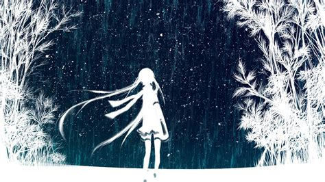 Anime Winter Wallpaper by Winter Anime Wallpapers Wallpaper Cave