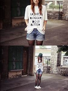 Shorts With Tights And Converse images