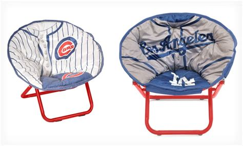 Toddler Saucer Chair Canada by Mlb Kid S Saucer Chair Groupon Goods