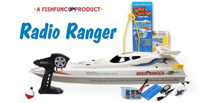 Real Rc Fishing Boat by Radio Ranger Remote Fishing Boat Catch S Real