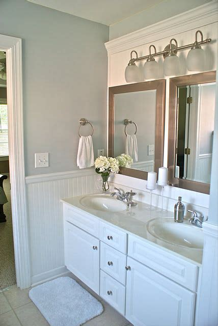 Two Mirrors In Bathroom by Amaing Bathroom Makeover The Idea To Cover A Large