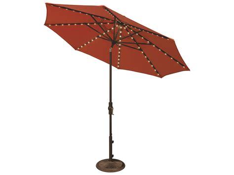 Treasure Garden Patio Umbrella Light by Treasure Garden Ship Market Aluminum 9 Foot Collar