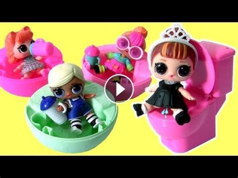 lol doll pees spits lol lil outrageous littles surprise