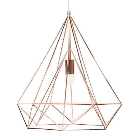 suspension chambre garcon suspension en métal d 45 cm copper maisons du monde