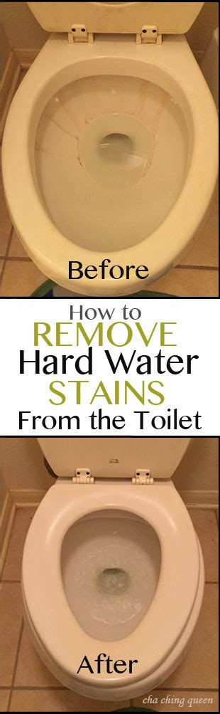 how to clean stained toilet bowl how to remove hard water toilet bowl stains easily and quickly