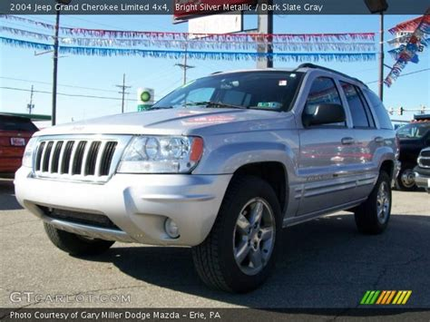 silver jeep grand cherokee 2004 bright silver metallic 2004 jeep grand cherokee limited