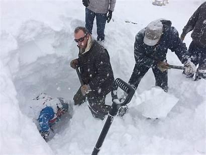 Avalanche Silverton Skier Rescue Under Feet Ski