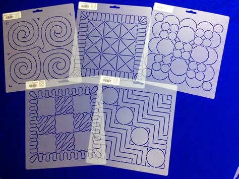 free motion quilting templates the free motion quilting project building block stencils