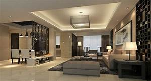 3d modern house living dining room partition china With modern home interior living room