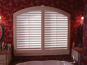 Arch Shutters from AAA Blinds and Window Fashions in