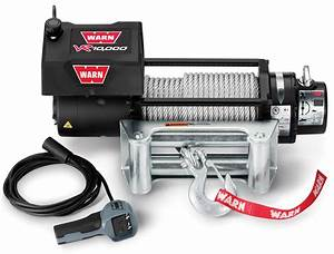 Warn 86255 Vr10000 Winch With 94 U0026 39  Wire Rope And Roller