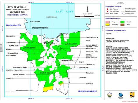 prediksi  pengelolaan risiko bencana banjir  ibu kota