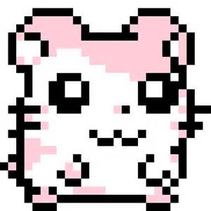 Transparent Cute Pixel Art