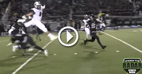 Video: Watch SEC recruiting target, Randy Moss' son, make ...