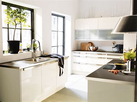 Ikea Küchenmöbel Faktum by Big Ideas For Small Kitchens Real Homes