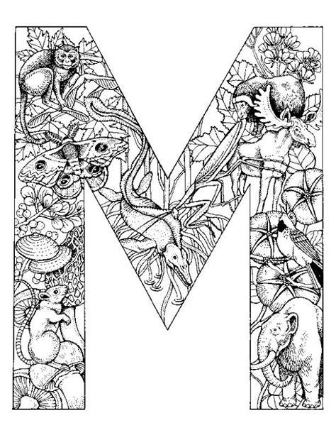 Kleurplaat Mandala Letter D by 25 Beste Idee 235 N Alfabet Kleurplaten Op