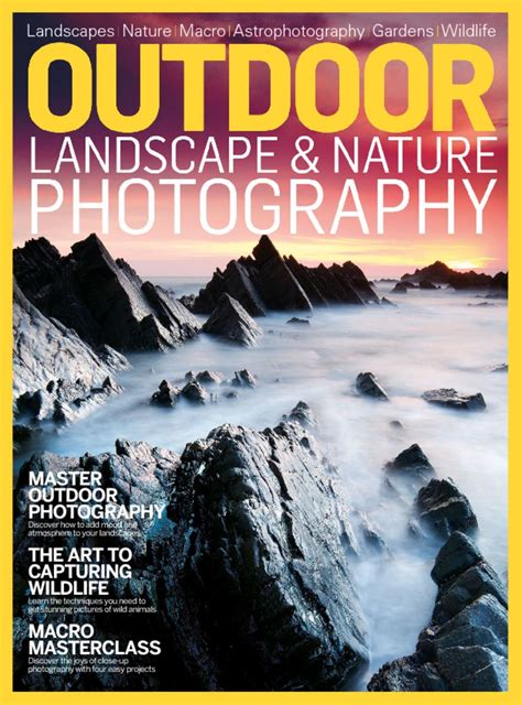 Outdoor Landscape And Nature Photography Magazine Digital