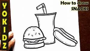 How To Draw Snacks