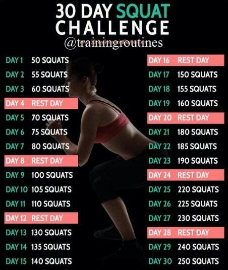30 días de sentadillas para la pompi | 30 day workout ...