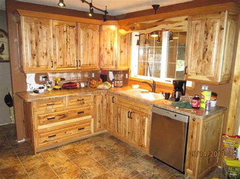 Hickory Kitchen Cabinets Wholesale by Image Result For Knotty Hickory Cabinets Home Decor