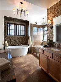 master bathroom pictures a study in neutrals the master bathroom showcases turkish ...