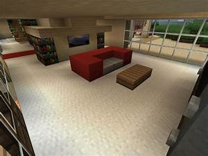 Minecraft Xbox 360 PS3 Modern House Interior Design ...