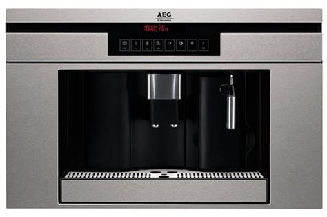 Machine A Cafe Encastrable Machine 224 Caf 233 Encastrable Aeg Pe 3810 M Inox 2853710 Darty