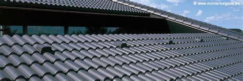 tuile beton revetements modernes du toit
