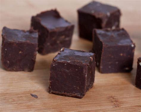 microwave fudge microwavable chocolate fudge recipe dishmaps