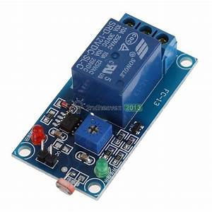 12v Led Photoresistor Relay Module Light Control Switch