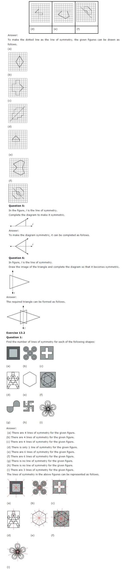 Symmetry In Maths For Class 6  Wwwpixsharkcom  Images Galleries With A Bite