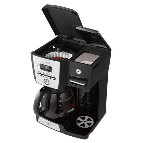 If you want your coffee to brew at the same time the following day, simply add the desired amount of ground coffee, fill the water reservoir and press delay brew. Mr. Coffee Multi Function 12 Cup Brew Programmable Coffee ...