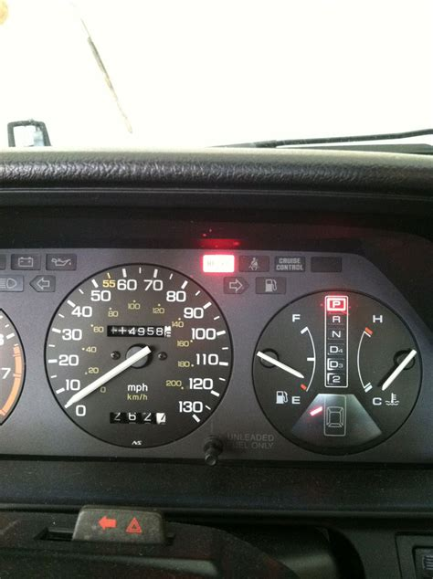 honda accord dash lights 1989 honda accord sei dashboard brake light goes on beth