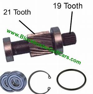 Input Shaft Ezgo Golf Cart Car
