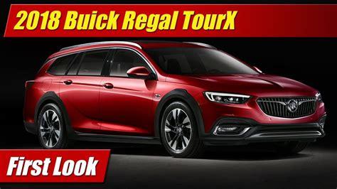 First Look 2018 Buick Regal Tourx Testdriventv