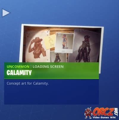 fortnite battle royale loading screen calamity orczcom