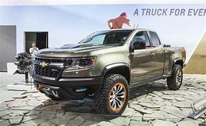 Another Optional 2017 Chevy Colorado Diesel Engine That