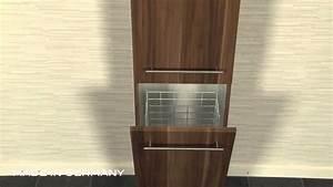 Badezimmerschrank Mit Integriertem Wäschekorb : hochschrank 180 cm mit w scheklappe youtube ~ Bigdaddyawards.com Haus und Dekorationen