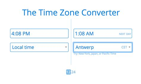 beautiful tools managing time zone differences